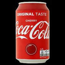 Coca-Cola cherry blik