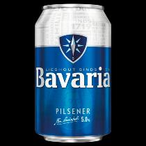 Bavaria bier blik