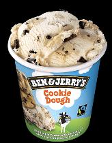 Ben & Jerry's Classic ijs Cookie Dough 500ml.