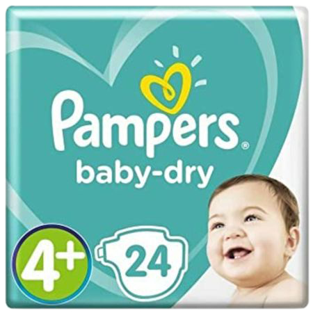 Pampers luiers baby-dry 4+