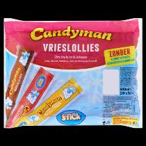 Candy man vrieslollies