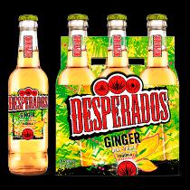 Desperados flavoured tequila bier Lime en Ginger 6-pack