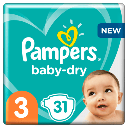 Pampers luiers baby-dry 3
