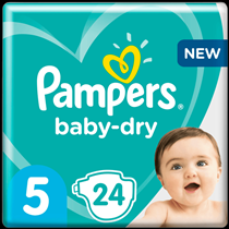 Pampers luiers baby-dry 5