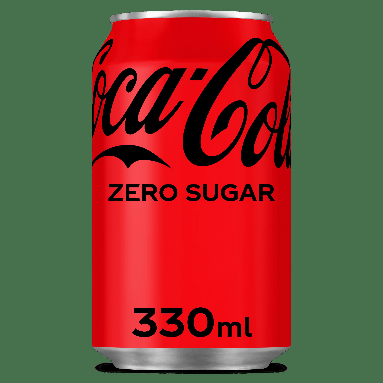 Coca-Cola zero blik