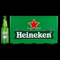 Heineken krat bier 24 flesjes van 0,30ltr.