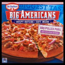 Dr.Oetker Big Americans pizza bbq pulled pork