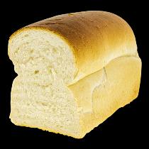 Half melk wit brood