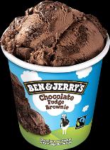 Ben & Jerry's Classic ijs Chocolate Fudge Brownie 500ml.