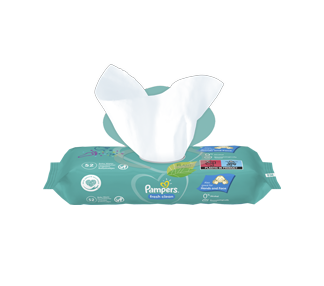 Pampers billendoekjes fresh clean