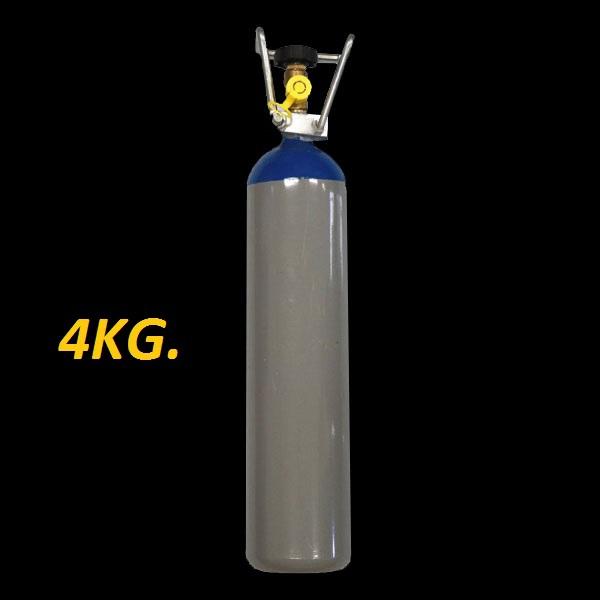 Lachgas fles 4kg. VULLEN !