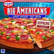 Dr.Oetker Big Americans pizza supreme