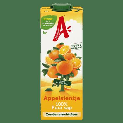 Appelsientje sinaasappelsap zonder vruchtvlees