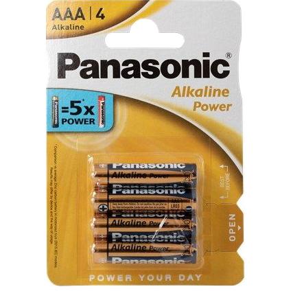 Panasonic alkaline power batterijen AAA