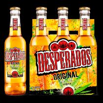 Desperados flavoured tequila bier Original 6-pack