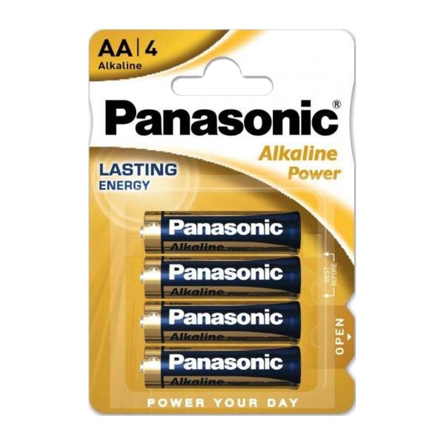 Panasonic alkaline power batterijen AA