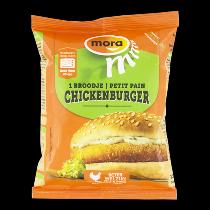 Mora broodje chickenburger
