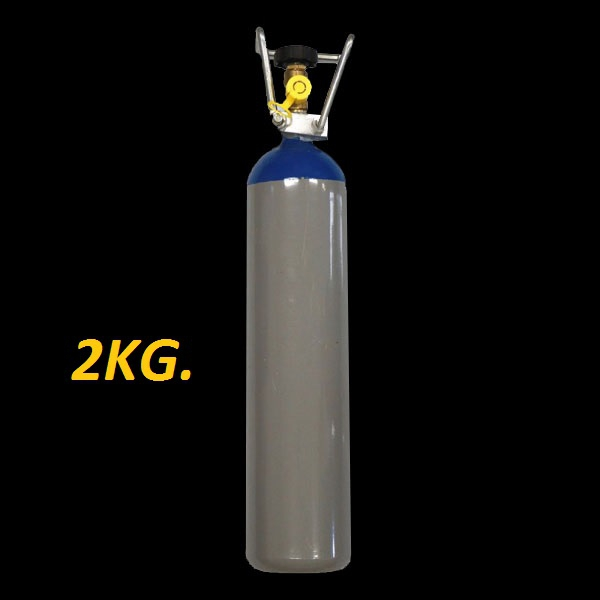 Lachgas fles 2kg. VULLEN !