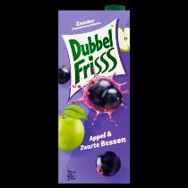 Dubbel Frisss appel & zwarte bessen