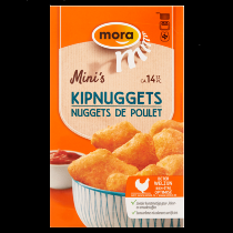 Mora doos mini's kipnuggets