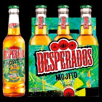 Desperados flavoured tequila bier Mojito 6-pack