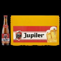 Jupiler krat bier 24 flesjes van 0,25ltr