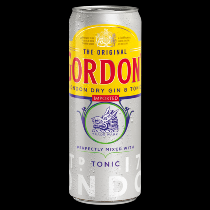 Gordon's gin tonic
