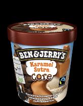 Ben & Jerry's Core ijs Karemel Sutra 500ml.