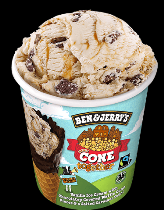 Ben & Jerry's Classic ijs Cone Together 465ml.