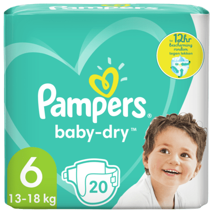 Pampers luiers baby-dry 6